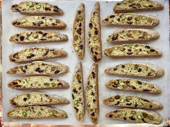 Post image for Cranberry-Orange Pistachio Biscotti that I have been making for years