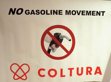 Menlo Park is the launch site of the No-Gasoline movement