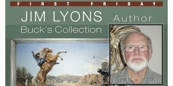 Jim Lyon talks about the Buck's Collection at Next First Friday on Feb. 2