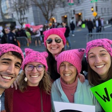 Women from Menlo Park and Atherton take part in variety of Bay Area Women's Marches
