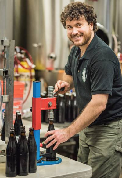 Orion Lakota is newest brewer at Freewheel Brewing Company