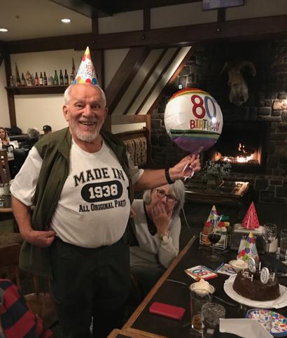 Birthday celebrations with Atherton roots abundant at Harry's Hofbrau Tuesday night