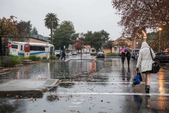 Post image for Rain today in Menlo Park appears to be a real soaker