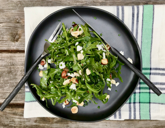 Changemakers: Dr. Marion Nestle and an arugula salad in her honor
