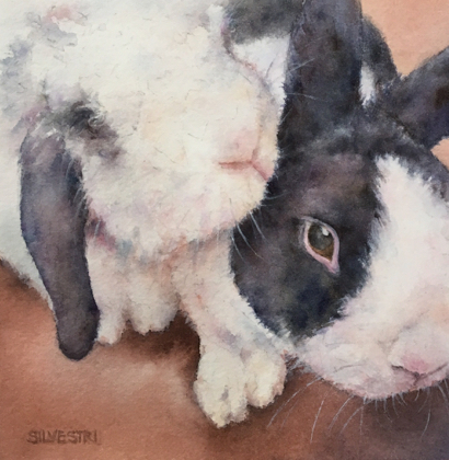 Post image for Teresa Silvestri exhibits animal paintings at Portola Art Gallery in March