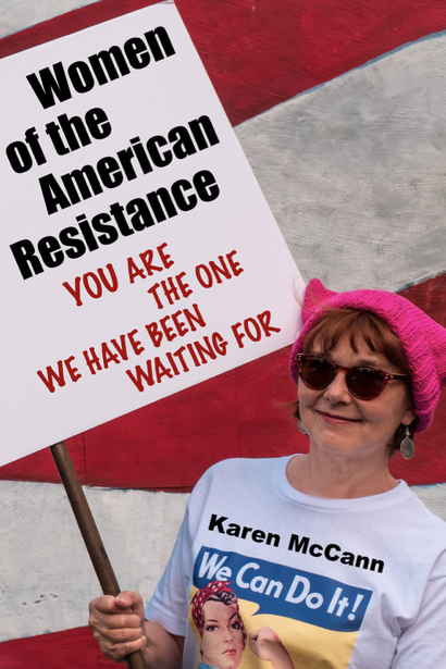 Karen McCann turns political with new book, Women of the American Resistance