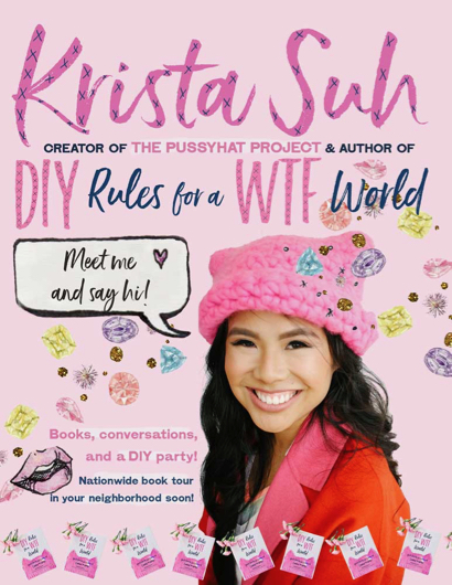 Post image for Pussyhat Project creator Krista Suh will be at Café Zoë on Feb. 25