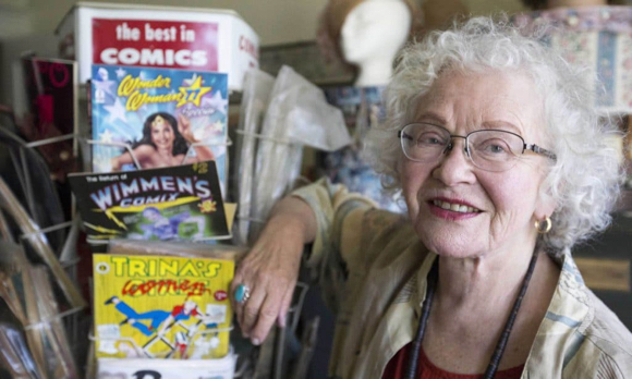 Post image for Comics pioneer Trina Robbins appears Feb. 8 at Friends of the Menlo Park Library event