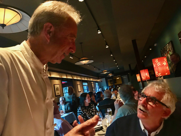 Post image for Fond farewell to Woodside and Atherton (well, sort of) chef John Bentley