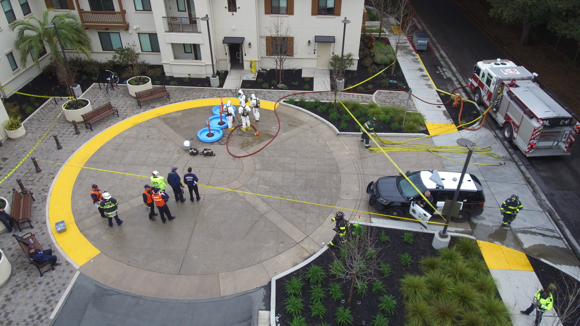 Noxious chemical smell – first suspected as meth lab – at VA Campus in Menlo Park sickens three workers