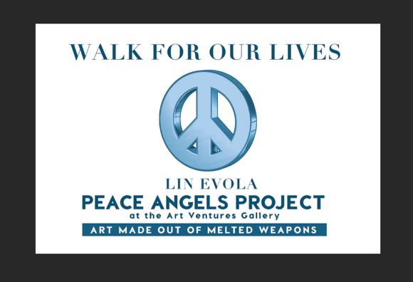 Reminder: Walk for Our Lives event in Menlo Park on Saturday, March 24, organized by Katharina Powers