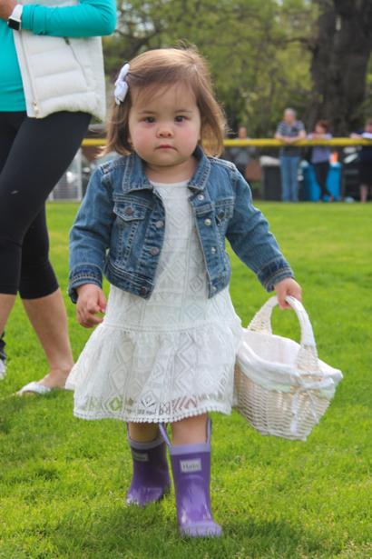 It's Easter egg hunt time in Menlo Park