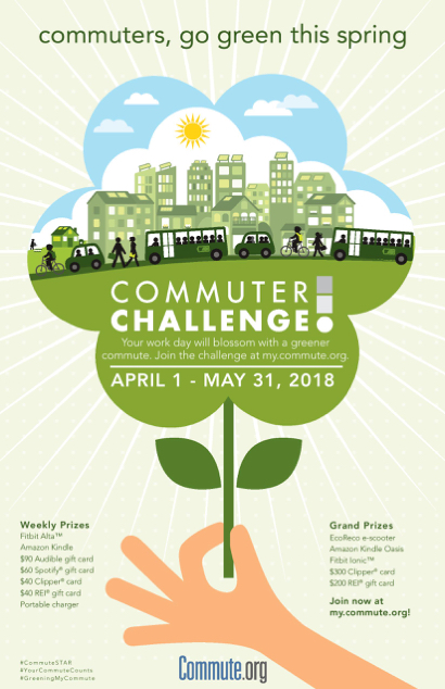 Post image for Commute.org invites San Mateo County commuters to go green this spring