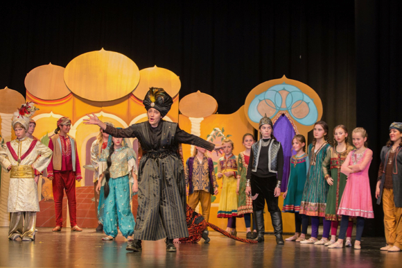 Post image for Spotted: Aladdin Jr. being performed by La Entrada School students