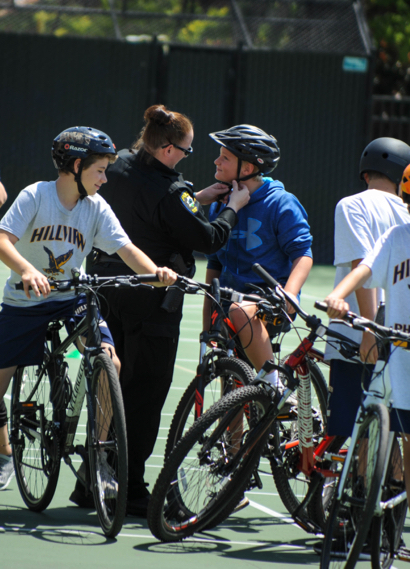 Hillview Middle Schools hosts 2nd annual Bike Rodeo