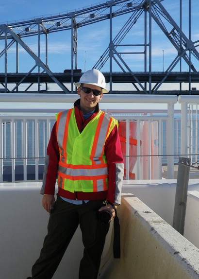 Matt Weil photographs the Bay Bridge from the same vantage point of 85 years ago