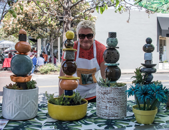 Post image for Spotted: Rock Bottom Clay Arts at Menlo Park's sidewalk festival
