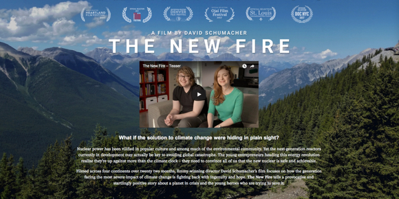 "Post image for Atherton celebrates Earth Day on April 21 by screening ""The New Fire"""