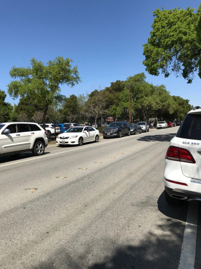 Anxious parents await news with Menlo-Atherton High School on lockdown