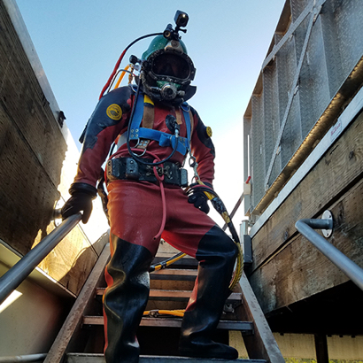 Post image for Divers complete Menlo Park reservoir inspections and cleaning