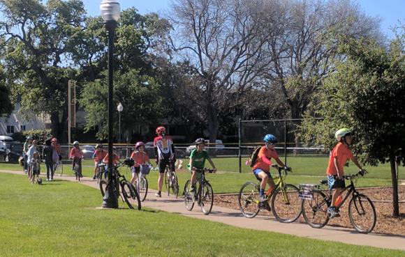 Post image for Bike Education Adventure debuts last weekend in Menlo Park