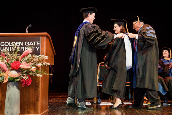 Post image for Philanthropist Bita Daryabari receives honorary doctorate and delivers Golden Gate University commencement address