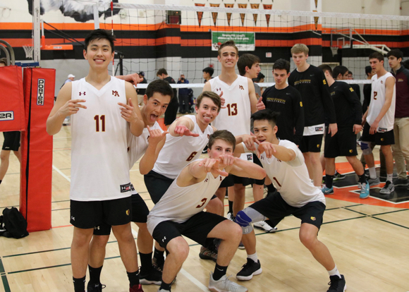 M-A boys varsity volleyball team goes undefeated; heads to CCS quarterfinals