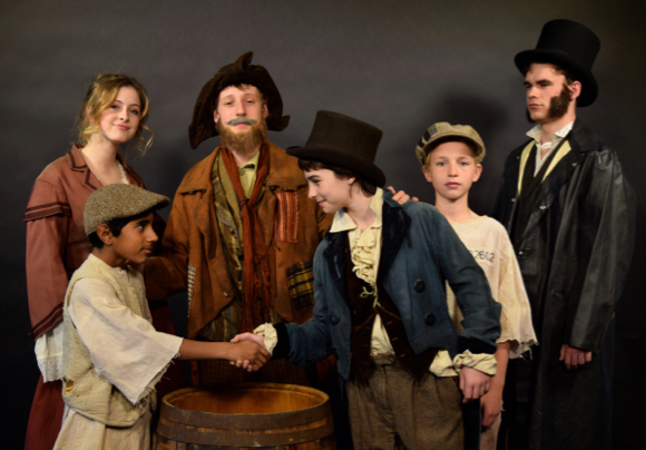 "Post image for ""Consider yourself at home"" at Menlo School's annual musical under the stars ""Oliver!"""