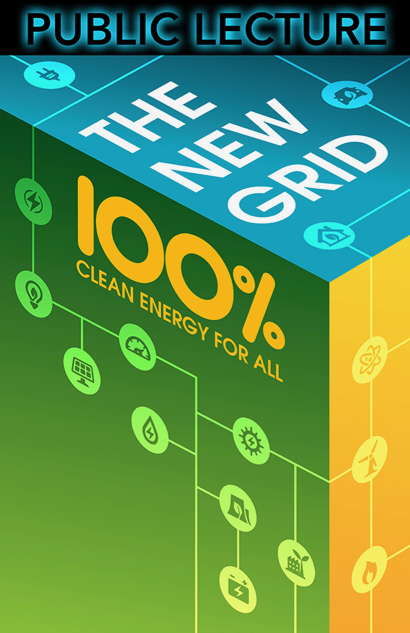 "Post image for ""The New Grid: 100% Clean Energy for All"" is topic of SLAC public lecture on May 29"