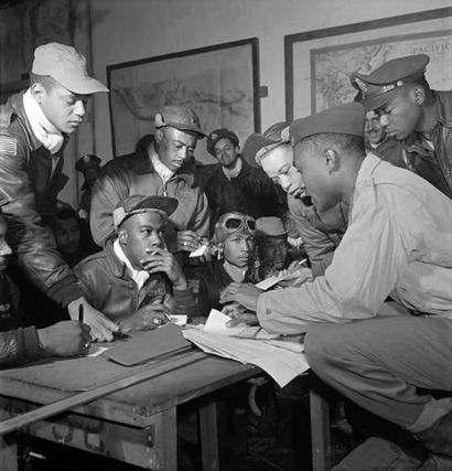 Post image for The Tuskegee Airman is topic for free talk at Menlo Park Library on June 12