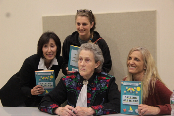 Post image for Temple Grandin talks about her new book at Kepler's Literary Foundation event