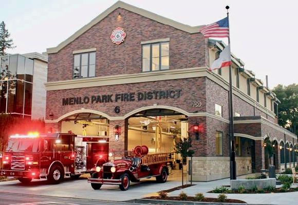 Post image for Menlo Fire Station 6 opens – Chief's contract renewed for three years