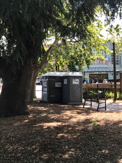 Post image for Spotted: Two porta-potties at Fremont Park