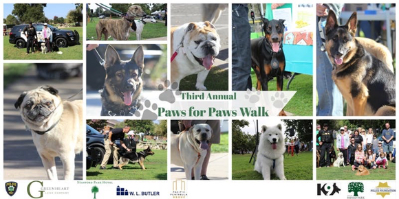 Third annual Paws for Paws benefits Menlo Park police K-9 unit