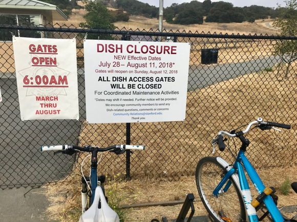Post image for Spotted: Notice that Big Dish closure is delayed a week