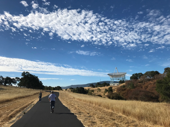 Big Dish walking paths open this week after all