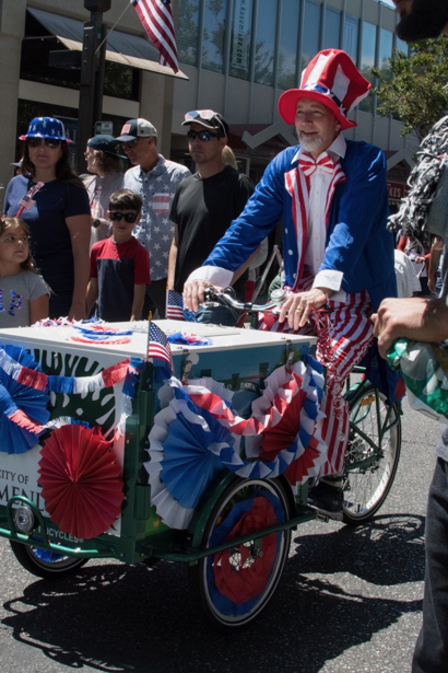 Celebrate 4th of July with parade and fun activities in Menlo Park