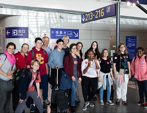 Post image for Ten local students travel to Menlo Park sister city, Bizen, in Japan