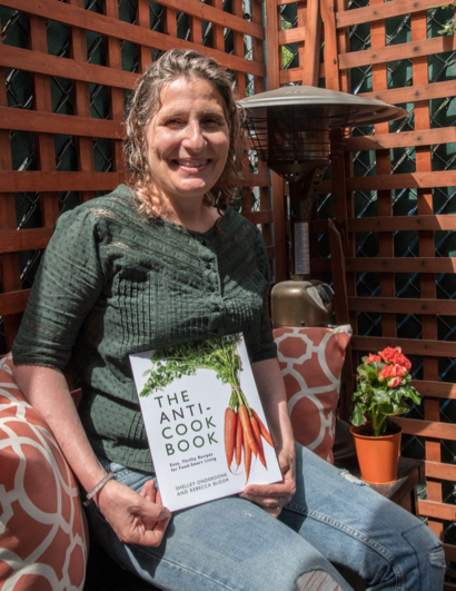 """Local writer Rebecca Bloom co-authors """"The Anti-Cook Book"""""""