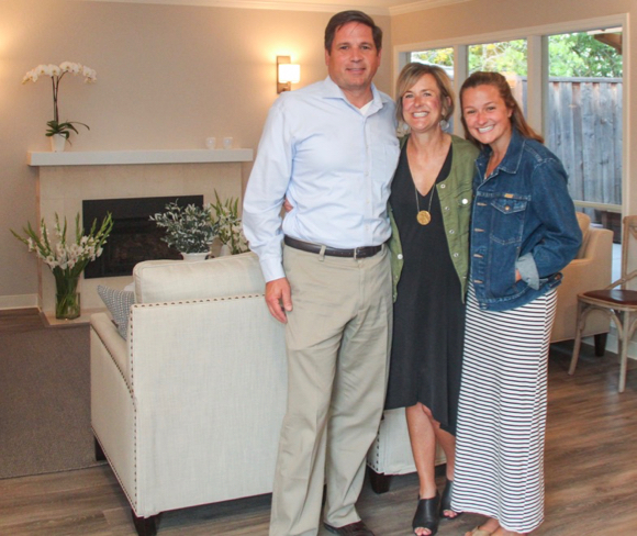 Post image for Lisa Deal and family celebrate the opening of new hospice house that will serve mid-Peninsula