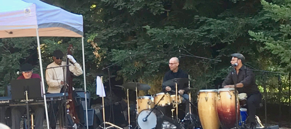 Post image for Spotted: Legendary jazz pianist Larry Vuckovich at Portola Vineyards