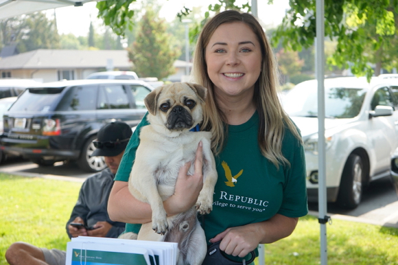 Dogs strut their stuff at Paws for Paws at Burgess Park