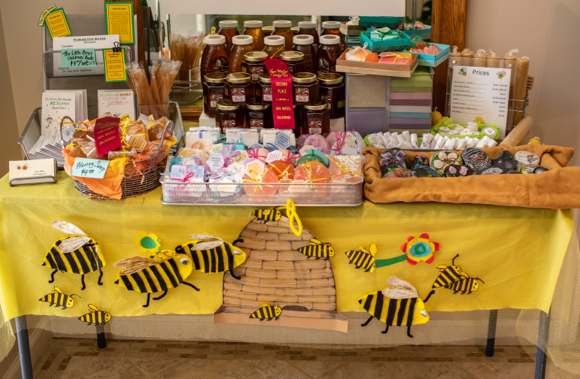 Lee's Bees return to Cafe Zoë this Saturday with more honey products