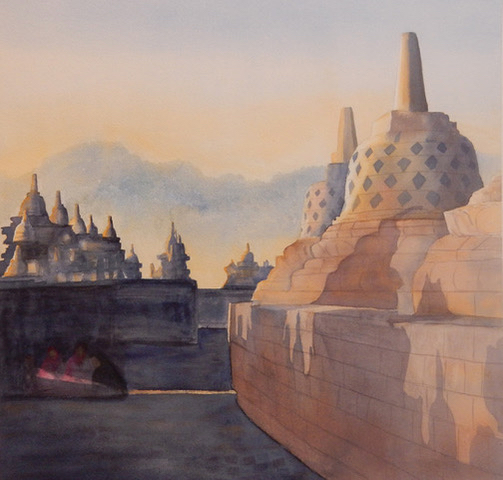 """Post image for """"Impressions of Indonesia"""" is featured exhibit at Portola Art Gallery in October"""