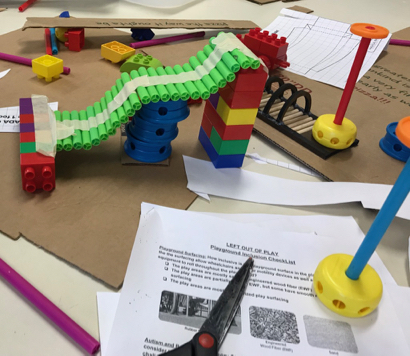 Hillview School sixth graders get a lesson in creating Magical Bridge playground