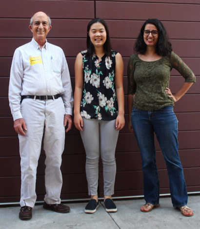 Ninth grader Audrey Ha is eager to start a public speaking club at Menlo-Atherton High School