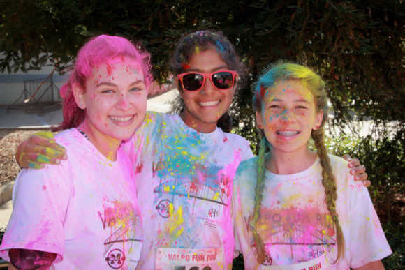 Get ready to be covered in color at the 6th annual Valpo Fun Run