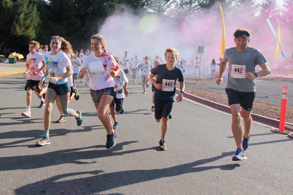 Post image for Get ready to be covered in color at the 6th annual Valpo Fun Run