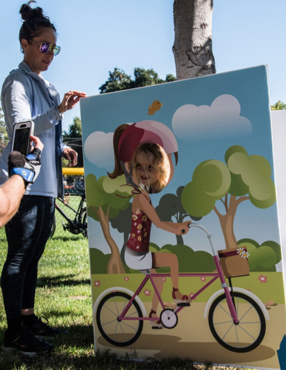 Peninsula Bikeway launch event proves fun for everyone