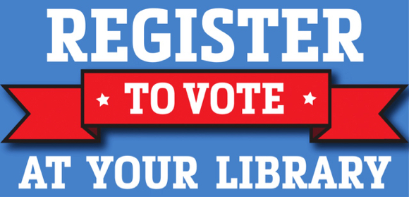 Post image for Register to vote at the Menlo Park Library on Sept. 25